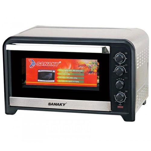 Lò nướng Sanaky VH-809NW 80L Vỏ Inox