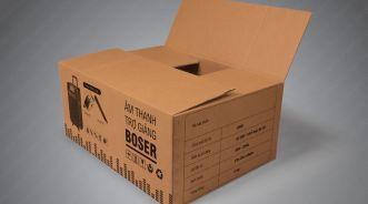 In thùng carton, thùng carton, thùng carton in offset