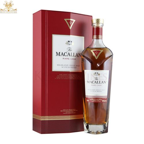 Rượu Macallan Rare Cask đỏ
