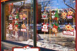 Decal Trang trí Noel, trang trí Giáng sinh