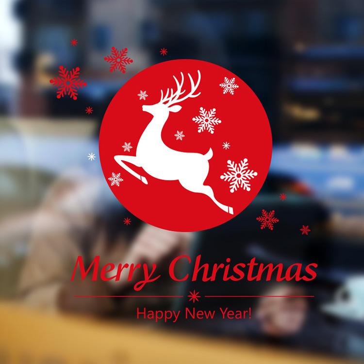 Decal Tuần Lộc Giáng Sinh