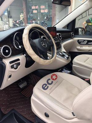 Thảm lót sàn Eco HD 1 lớp màu nâu Mercedes V220d