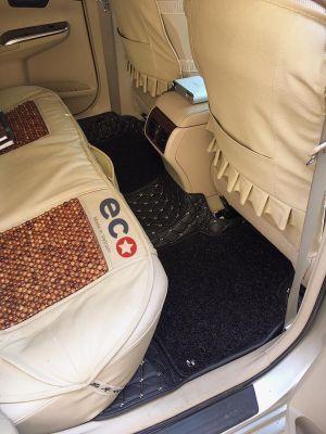 Thảm lót sàn Eco HD 2 lớp màu đen TOYOTA CAMRY