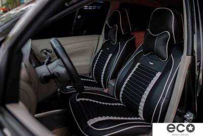 Bọc ghế cao cấp carbon đen