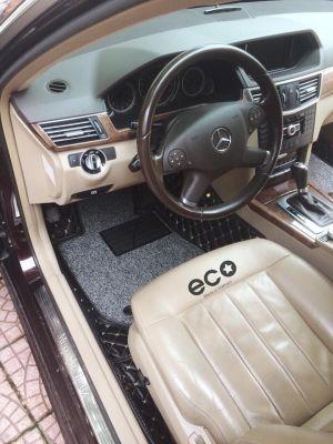 thảm lót sàn Eco HD Merc E màu đen 2 lớp