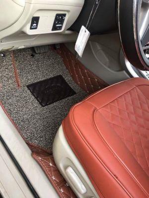 Thảm lót sàn Eco premium Toyota Altis màu da bò 2 lớp