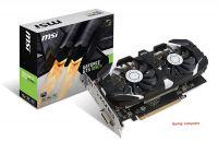 MSI Nvidia GTX 1050Ti OCv1 4GDDR5 128bit