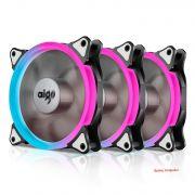 Aigo Aurora C3 RGB led - 120mm 3 pack with controller