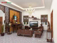 Thiết kế công trình nhà chị Hiền Hà Nam