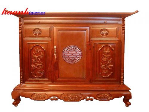 Tủ thờ gỗ gụ TTC004