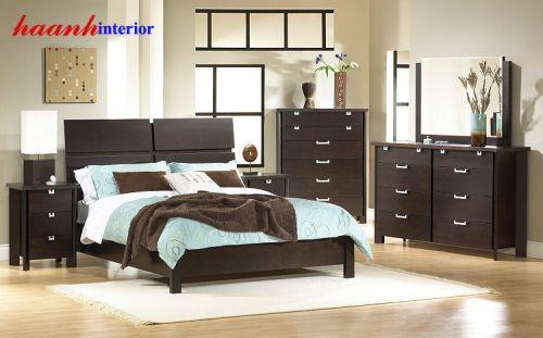 Giường ngủ hiện đại GNH001