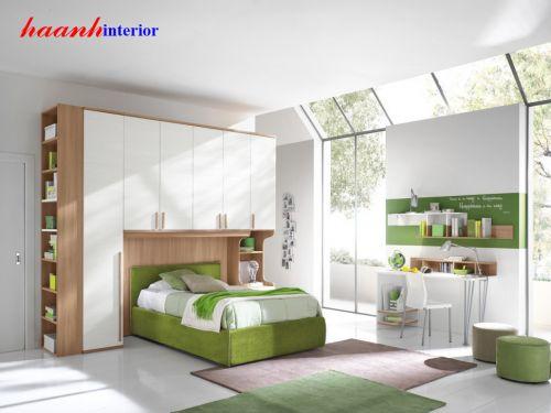 Giường ngủ trẻ em gỗ công nghiệp GTE001