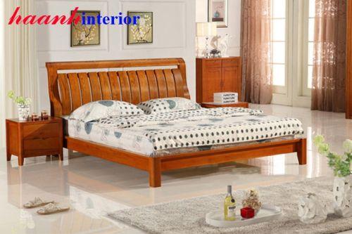 Giường ngủ gỗ GNC005