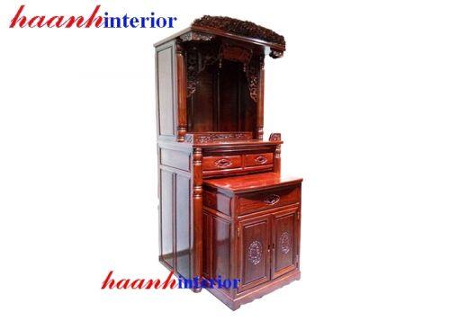 Bàn thờ Phật gỗ gụ BTPG001