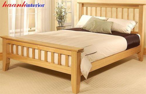 Giường ngủ gỗ sồi GNH016