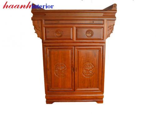 Tủ thờ gỗ gụ TTC010