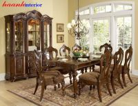 Bàn ghế ăn cổ điển BGC010