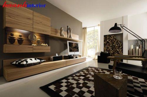 Tủ trang trí phòng khách TPK015