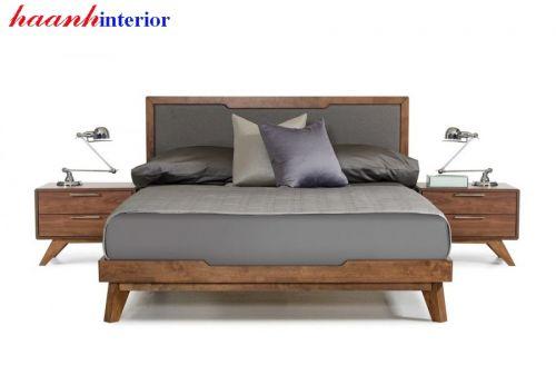 Giường ngủ gỗ óc chó GNH024