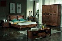 Phòng ngủ gỗ tự nhiên óc chó nhập khẩu Bắc Mỹ BPN 028
