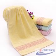Khăn mặt, khăn quấn đầu cotton 34x70cm 130gr dùng cho spa, khách sạn.