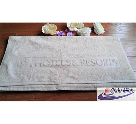 Khăn dệt logo khách sạn APA