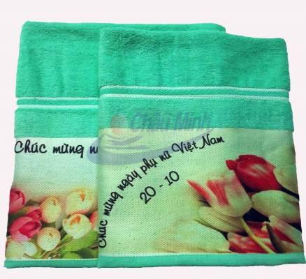Khăn tắm quà tặng ngày Phụ nữ Việt Nam