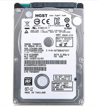 HDD 500G Laptop
