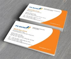 Mẫu in card visit giấy C0005
