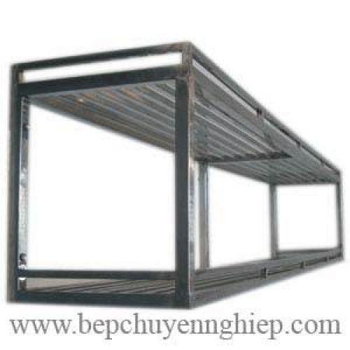 Kệ inox treo tường  2 - 3 tầng