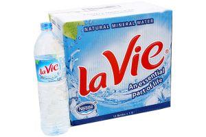Thùng Lavie 1,5 lít