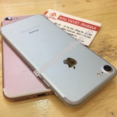 iPhone 7 128GB CŨ 95%, CÒN MỚI 99% ( MÀU VÀNG/ HỒNG ) CHÍNH HÃNG BẢN LOCK