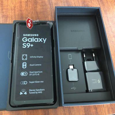 SAMSUNG GALAXY S9 PLUS 64GB - 256GB 1 SIM VA 2 SIM MỚI 100% HÀNG CÔNG TY