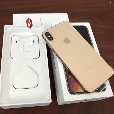 IPHONE XS MAX 64GB MỚI 100% ZA/A (2 SIM VẬT LÝ) & HÀNG FPT 1 SIM NGUYÊN SEAL ĐEN/TRẮNG/VÀNG CHÍNH HÃNG BẢN QUỐC TẾ