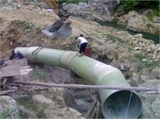 Cung cấp, lắp đặt ống và phụ kiện FRP áp lực cao DN1200 cho dự án Nhà máy thủy điện Suối Sửu II - Hà Giang