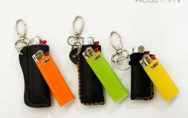 Móc khóa da bật lửa - Thời trang và tiện dụng