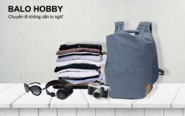 Balo vải – Phụ kiện cực chất cho những chuyến du lịch hè