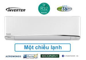 ĐIỀU HÒA PANASONIC 18.000 BTU 1 CHIỀU INVERTER GAS R32, HÀNG CAO CẤP