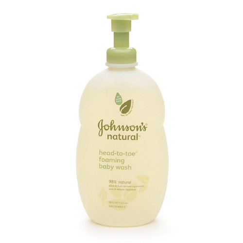 Sữa tắm Johnson's Baby Naturals 532ml