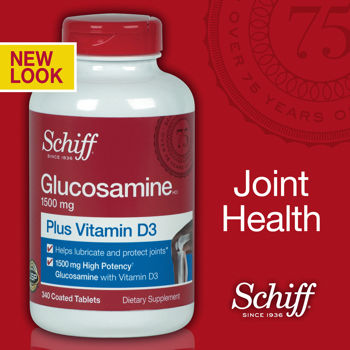 Glucosamine plus vitamin D