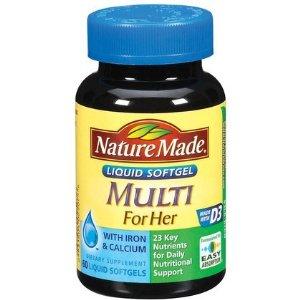 Vitamin tổng hợp cho phụ nữ