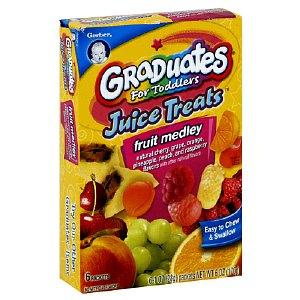 Gerber kẹo dẻo trái cây