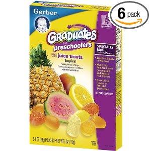 Gerber kẹo trái cây