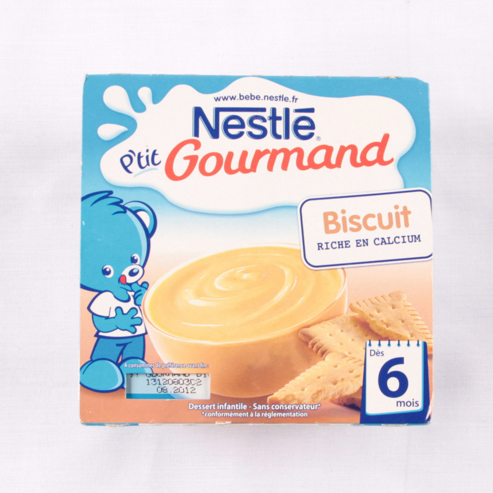 Pudding Nestle- biscuits