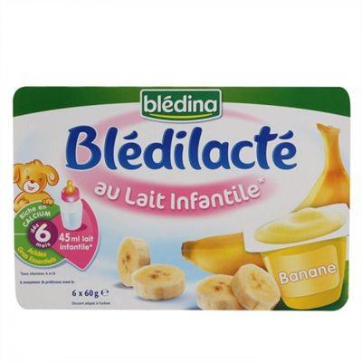 Yaout bledina - vị chuối