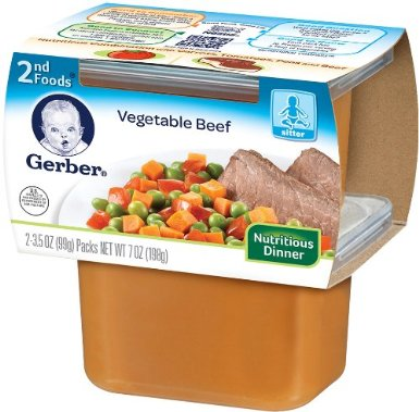 Gerber- beef vegetable