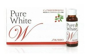 Pure white shiseido