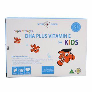 Super Strength DHA Plus Vitamin E