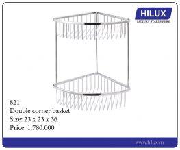Double Corner Basket - 821