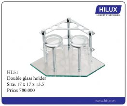 Double Glass Holder - H151